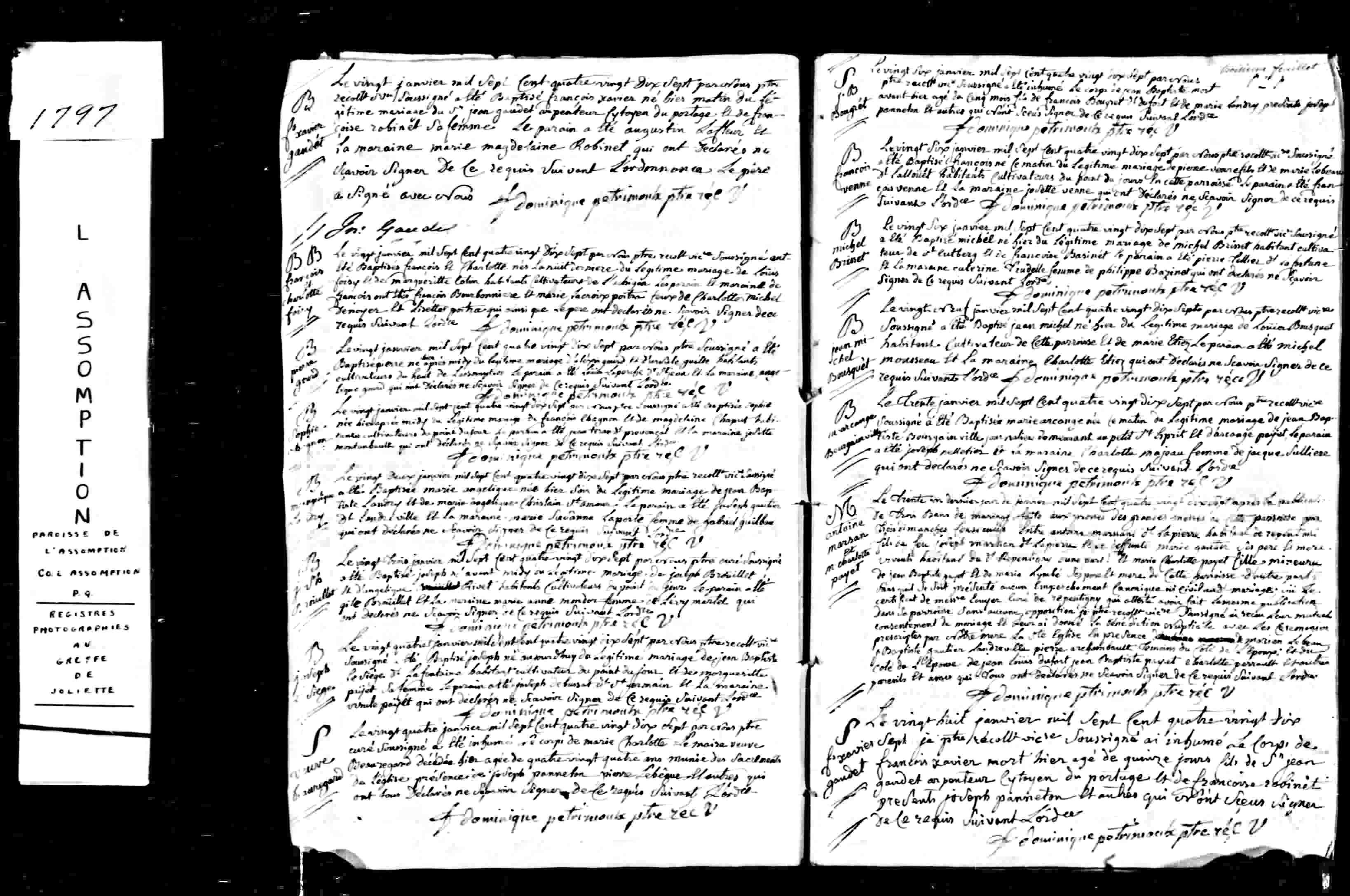 weddings acte de mariage entre antoine marsan dit lapierre et charlotte payet genealogy boucher bourgeois - Drag Mariage